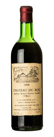 1966 Bordeaux Chateau du Roc