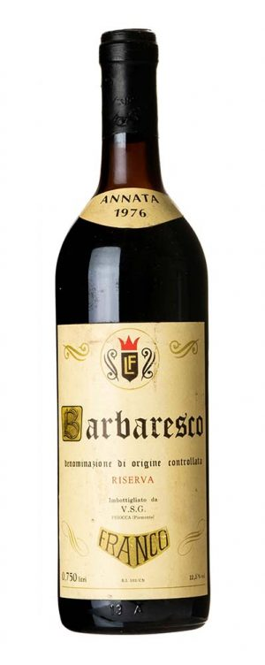 1976 Barbaresco Franco