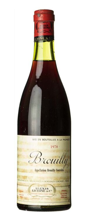 1970 Brouilly Alexis Lichine & C.