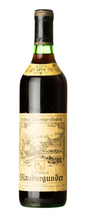 1979 Blauburgunder Cantina Sociale Della Valle d´Isarco