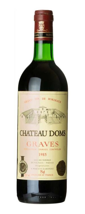 1985 Graves Chateau Doms