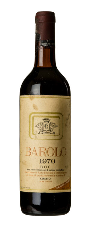 1970 Barolo Ceretto