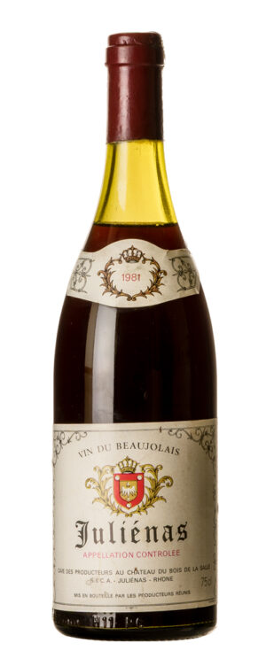 1981 Beaujolays Juliénas